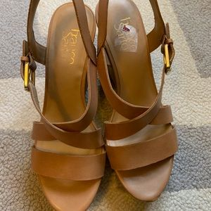 Franco Sarto wedge sandals size 7
